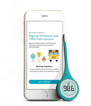 Do you want a free Kinsa Smart Thermometer?