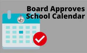 The 2021-2022 School Calendar Has Been Approved