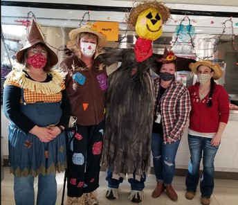 Our Scarecrow Bunch!