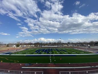 New Turf at Rambler Stadium