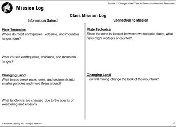 Mission Log