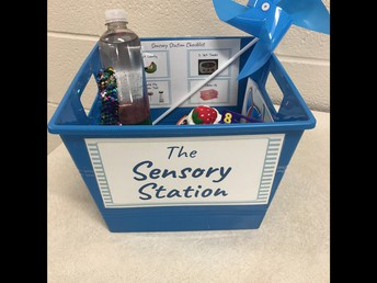 Sensory Stations are Complete!
