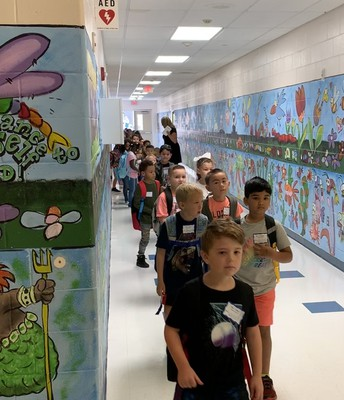 Davenport First Graders lead the way