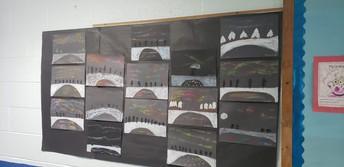 Student Art filling our hallways