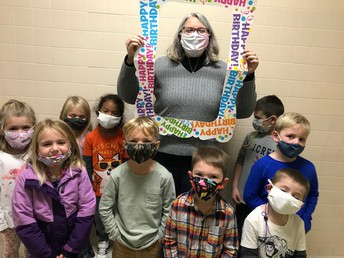 The K4 students came up to wish me a very happy birthday!!!