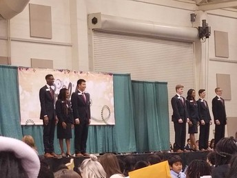 Opening Session and FBLA State Officers