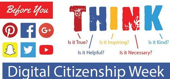 Digital Citizenship Week is coming September 13th-17th