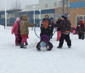 Winter Playground Fun
