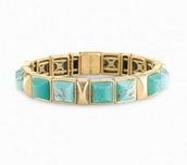 Sawyer Stone Bracelet-Turquoise