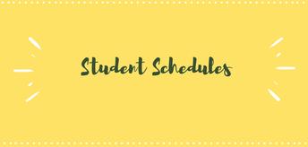 2019-2020 Schedules