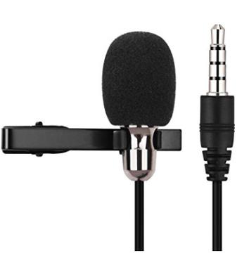 Lavalier Lapel Microphone