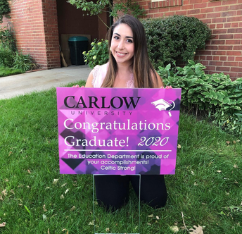 Congratulations Martina Caruso, 2020 MEd graduate in Early Childhood Education!