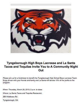 Help Support THS Boys Lacrosse