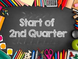 2nd Quarter begins Monday--NAVY Classes