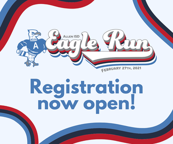 2021 Allen Eagle Run - Registration is Now Open! February 27 - March 3, 2021