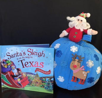 Santa's Sleigh is on it's way to Texas by:Aslynn M