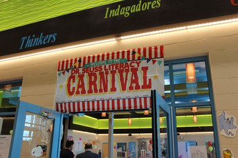 Welcome to the Dr. Seuss Literacy Carnival