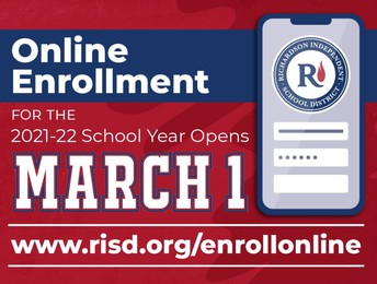 Online Enrollment for the 2021 - 2022 School Year