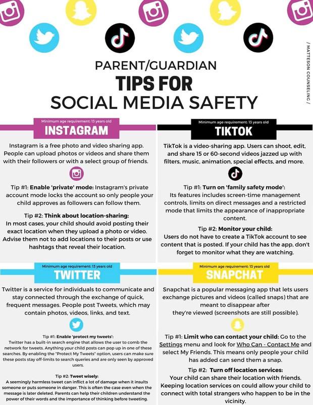 Tips for Social Media Saftey