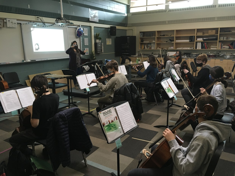 8th Grade Orchestra at Shepard