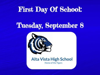 Hello Alta Vista High School Families!