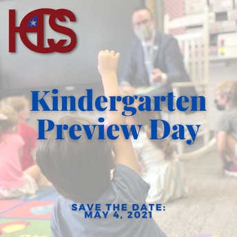 Kindergarten Preview Day Program