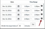 Canvas- Scheduler Tool