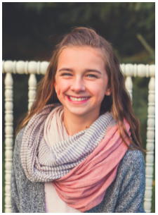 2018 YWCA Women of Distinction Honoree - DMMS 6th Grade Student - Chloe Aanenson