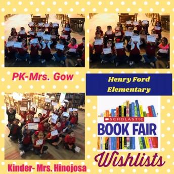 Book Fair Wishlists