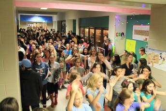 Main Hall & 6th, 7th, 8th grade hall Exhibits