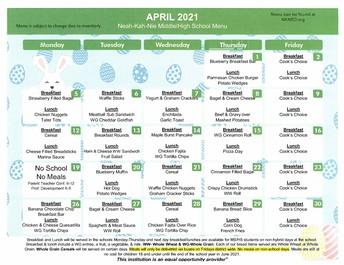 Lunch Program & Accounts