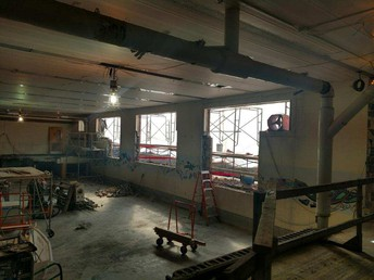 Lower gym- soon to be LMC