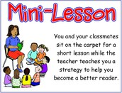 Intro: The Mini Lesson