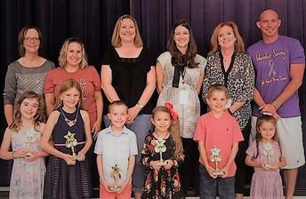 Principal Star Award Recipients