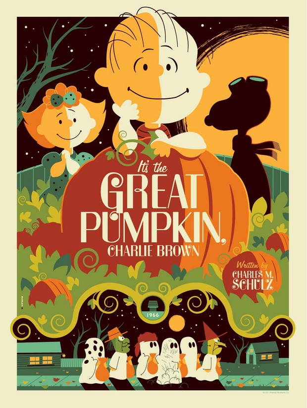 It's the Great Pumpkin, Charlie Brown! linked graphic.