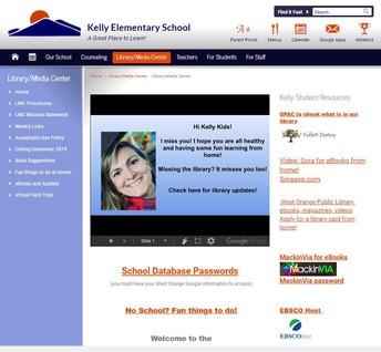 Kelly School LMC Website