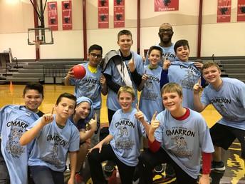 7th Grade Dodgeball Champions!