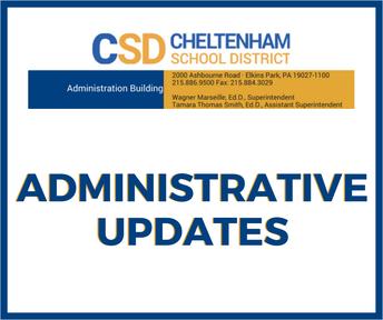 November Administrative Updates