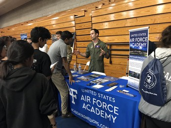 Annual College and Career Fair Has Great Turnout at Rancho Bernardo HS