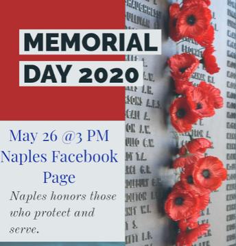 Memorial Day Concert on Facebook Live!