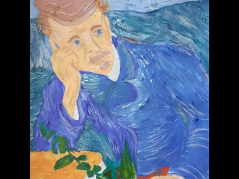 Year 10 - Lacy - Study of Van Gogh