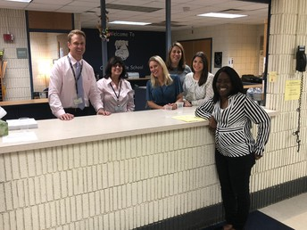 Office, counseling and nursing staff!