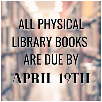 Attention Students, Parents and Staff - Library Book Deadline