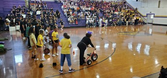 Homecoming Pep Rally: You Can Do It Mrs. Dickey