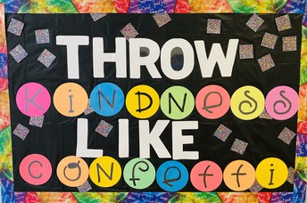 Let's Throw Kindness Like Confetti at UCE!
