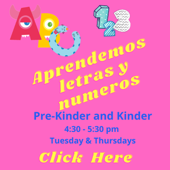 Let's learn about letters and number in English and Spanish!