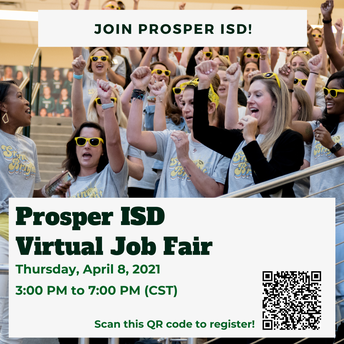 PISD Virtual Job Fair - April 8th