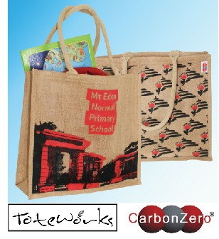 BAG A MENPS JUTE BAG!