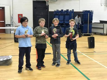 4th Grade Division Winners
