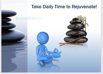 Renew, Recharge and Rest Every Day!